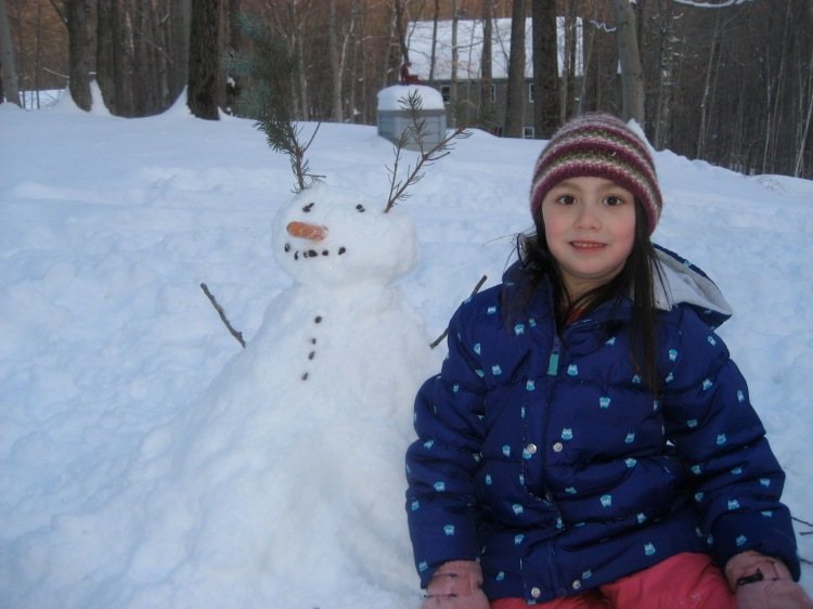 Hang in there, Mr. Snowman; it's just a season!
